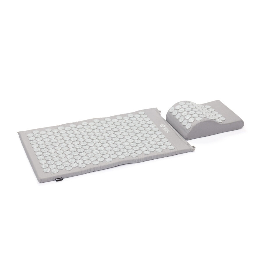 tapis acupression gris