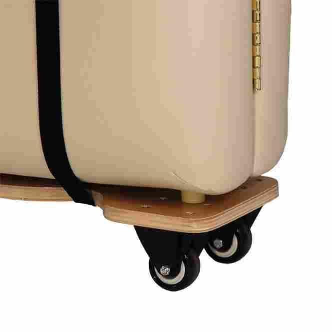skate de transport pour table de massage detail