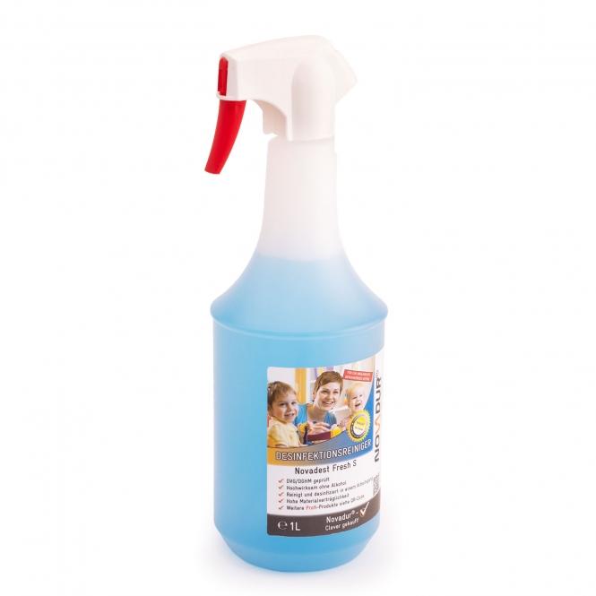 flacon vaporisateur solution desinfectante 1 litre