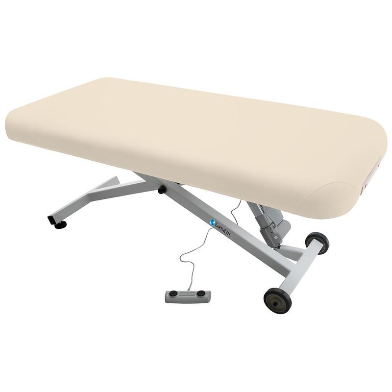 table de massage ellora earthlite dossier plat creme