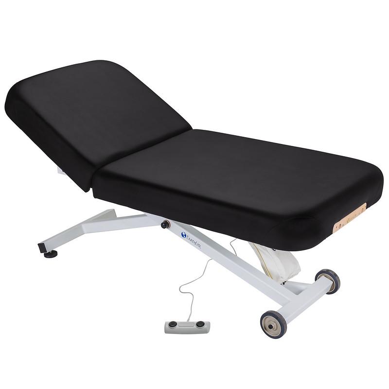 table de massage ellora earthlite dossier relevable noir