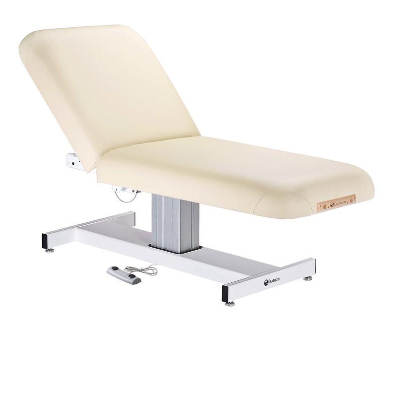 table de massage ellora earthlite dossier relevable creme