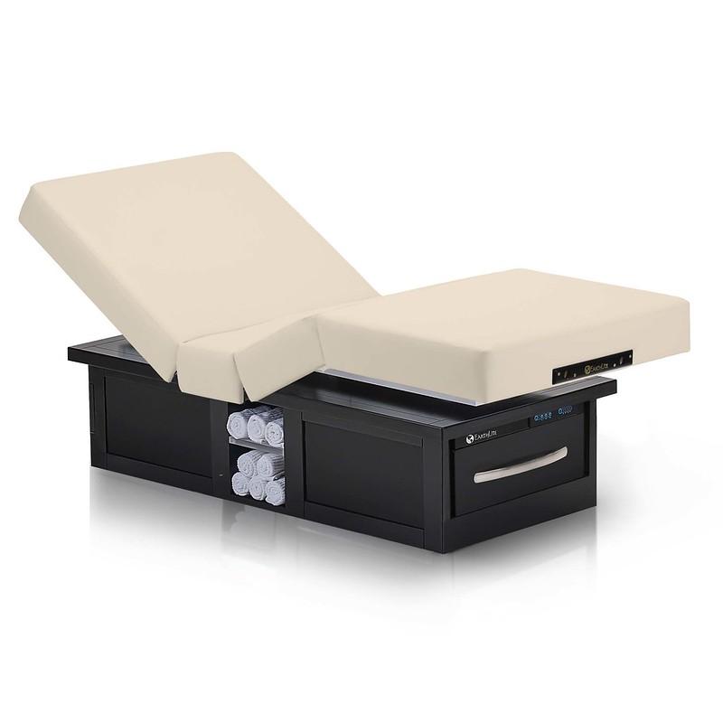 table de massage electrique eclipse salon creme