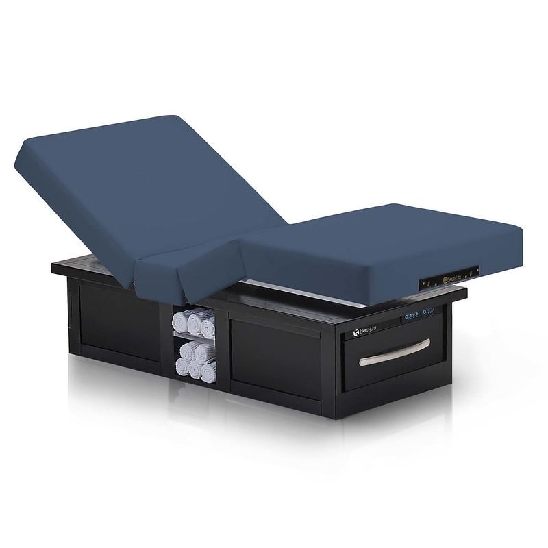 table de massage electrique eclipse salon mystic blue