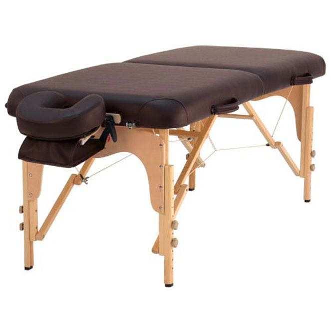 table de massage balance chocolat