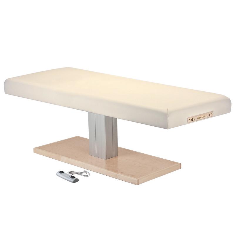 table de massage electrique EVEREST SPA creme