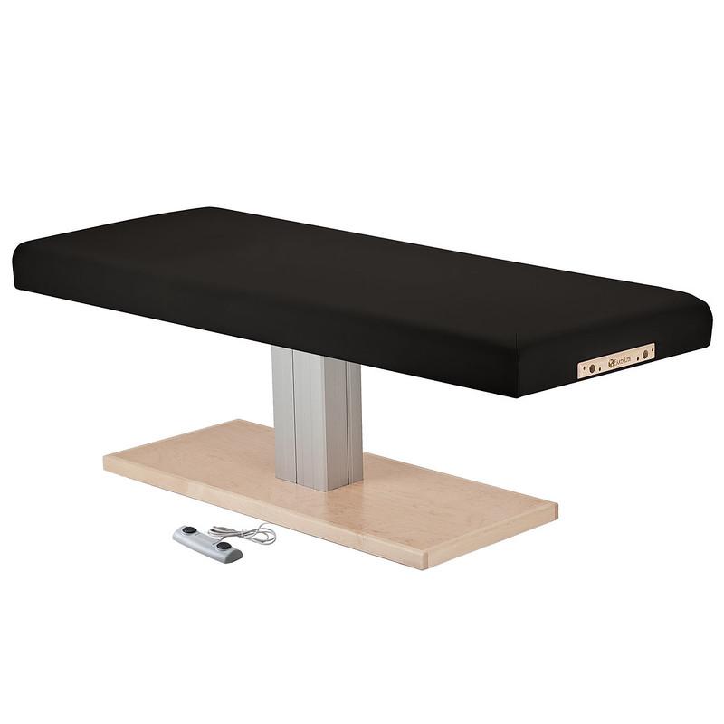 table de massage electrique EVEREST SPA noir