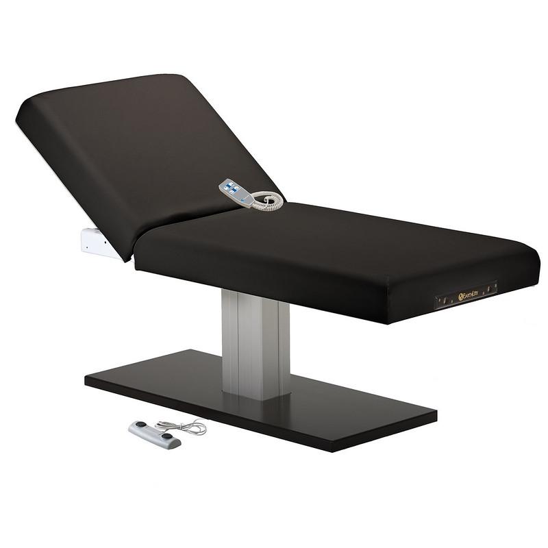 table de massage electrique EVEREST SPA dossier relevable noir