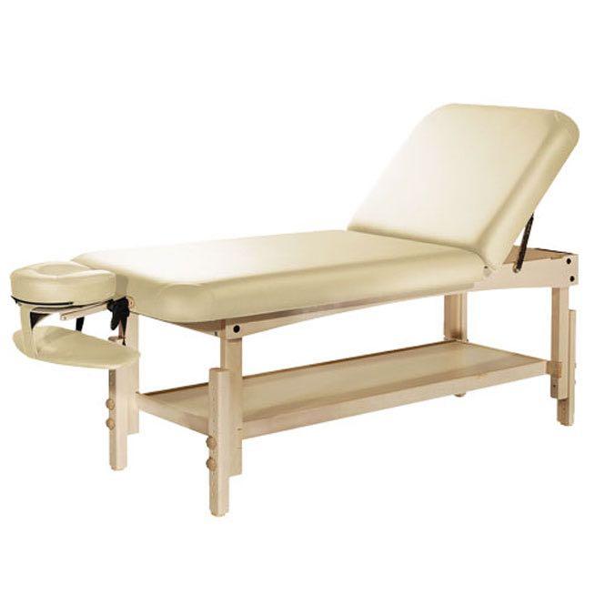 table de massage fixe en bois natura tilt