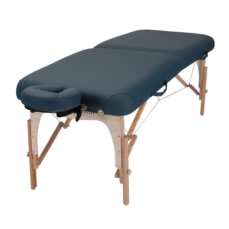 table de massage E2 mystic blue
