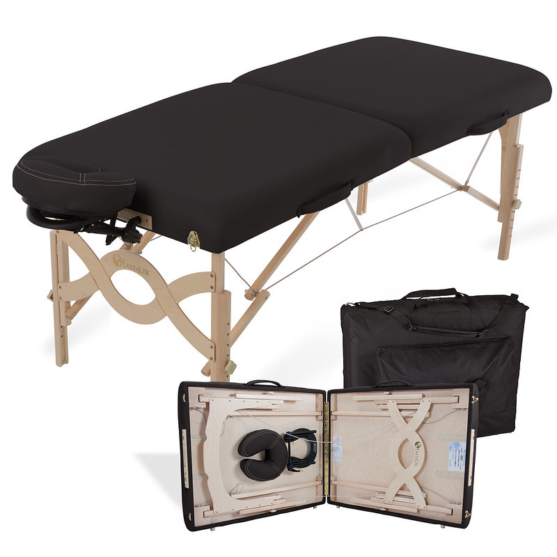 table de massage pliante avalon noir