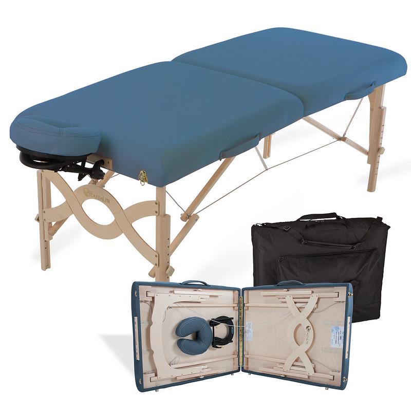 table de massage pliante avalon mystic blue