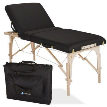 table de massage avalon tilt top noir