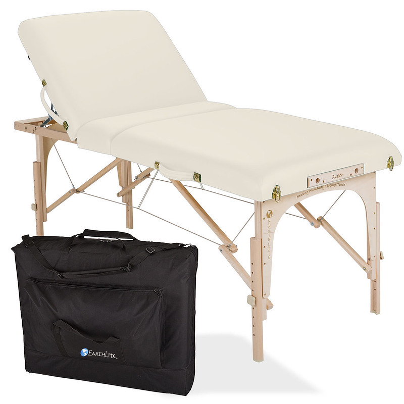 table de massage avalon tilt top creme