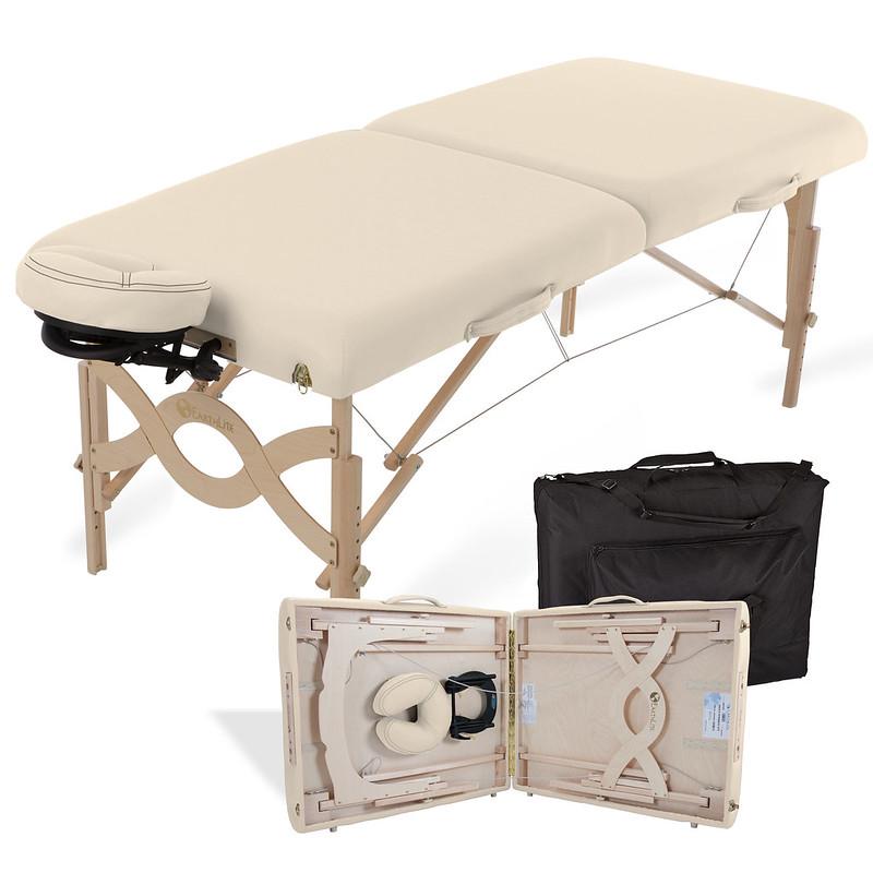 table de massage pliante avalon creme