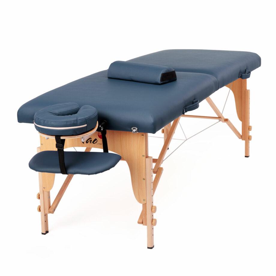 table de massage pliante eco relax package bleu