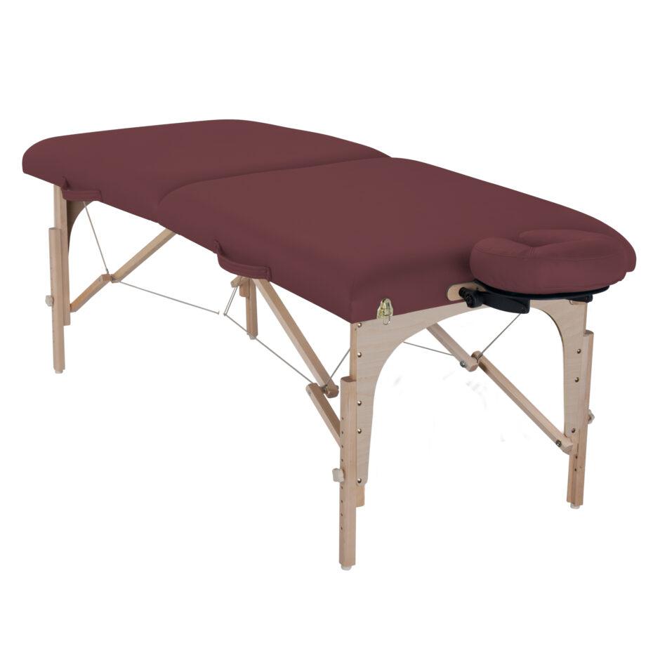 table de massage element bordeaux