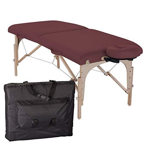 table de massage pliante element bordeaux