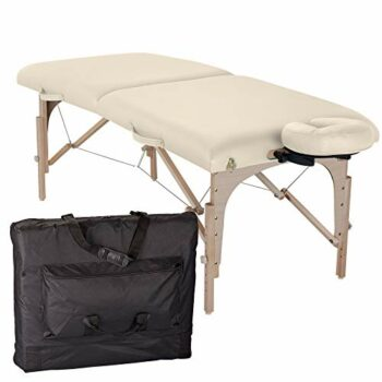 table de massage pliante element creme