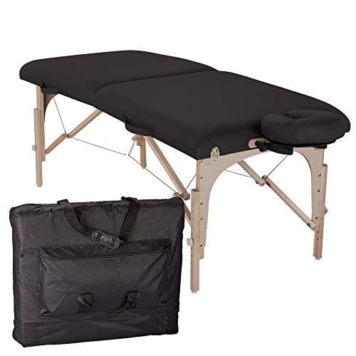 table de massage pliante element noir