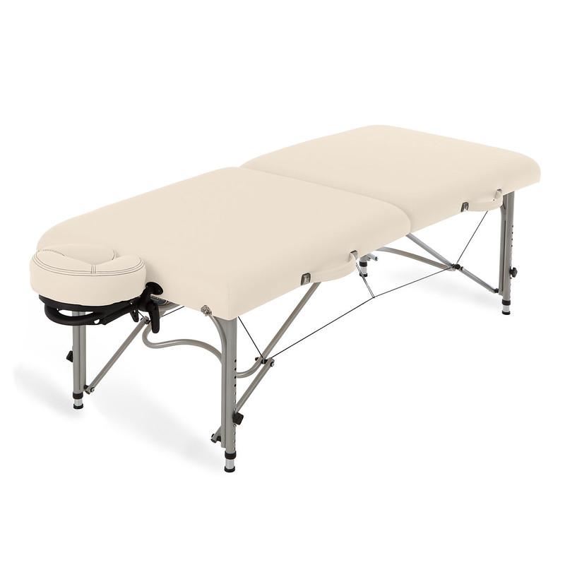 table de massage pliante luna earthlite creme