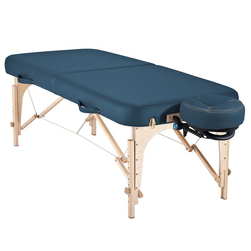 table de massage pliante soirit de earthlite mystic blue