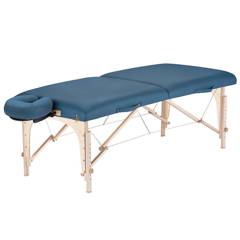 table de massage portable harmony mystic blue