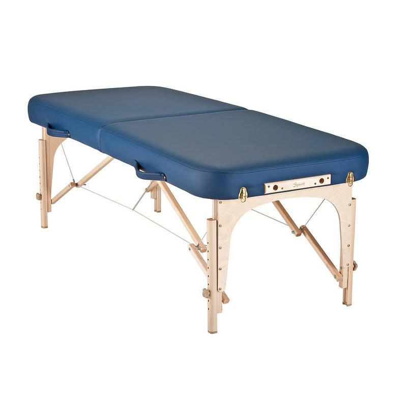 mousse table de massage spirit mystic blue