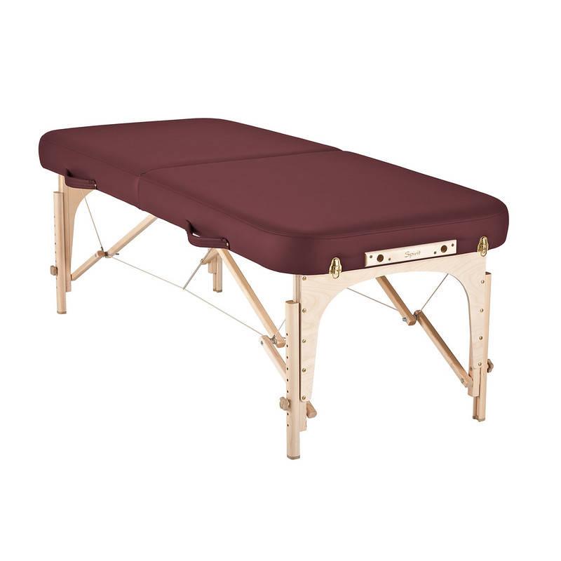 mousse table de massage spirit bordeaux
