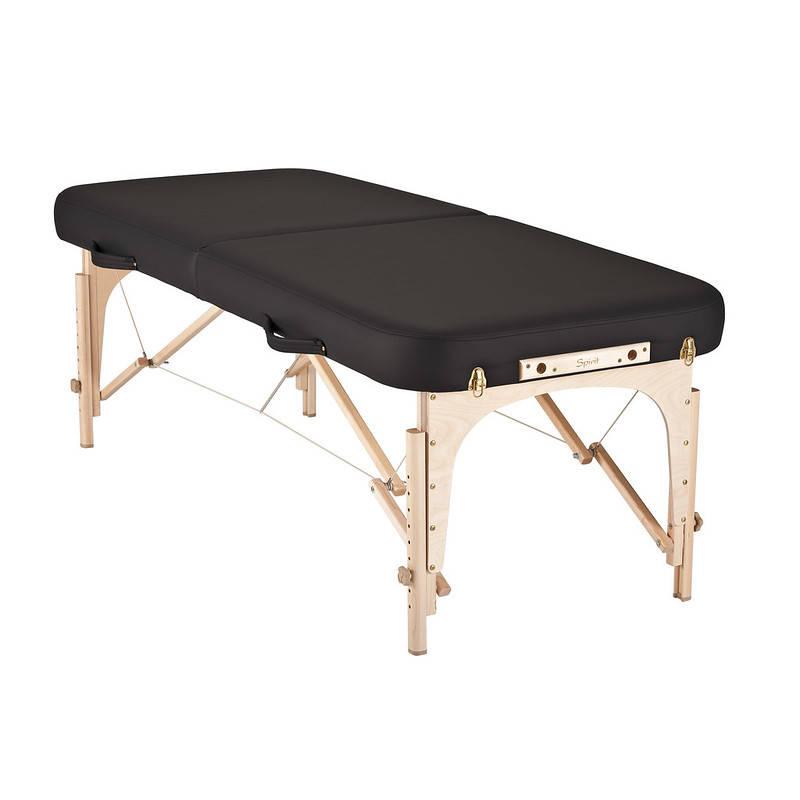 mousse table de massage spirit noir