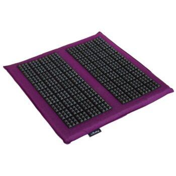 tapis acupression pieds vital spiky aubergine
