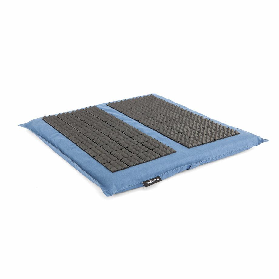 tapis acupression pieds vital spiky bleu