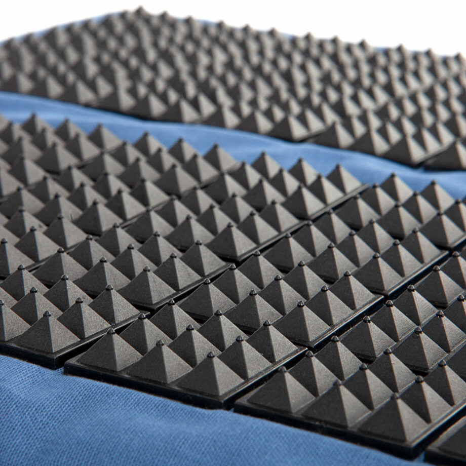 tapis acupression pieds vital spiky zoom bleu