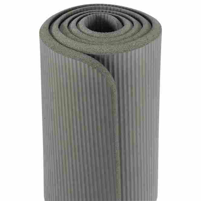tapis de gymnastique pilates gris