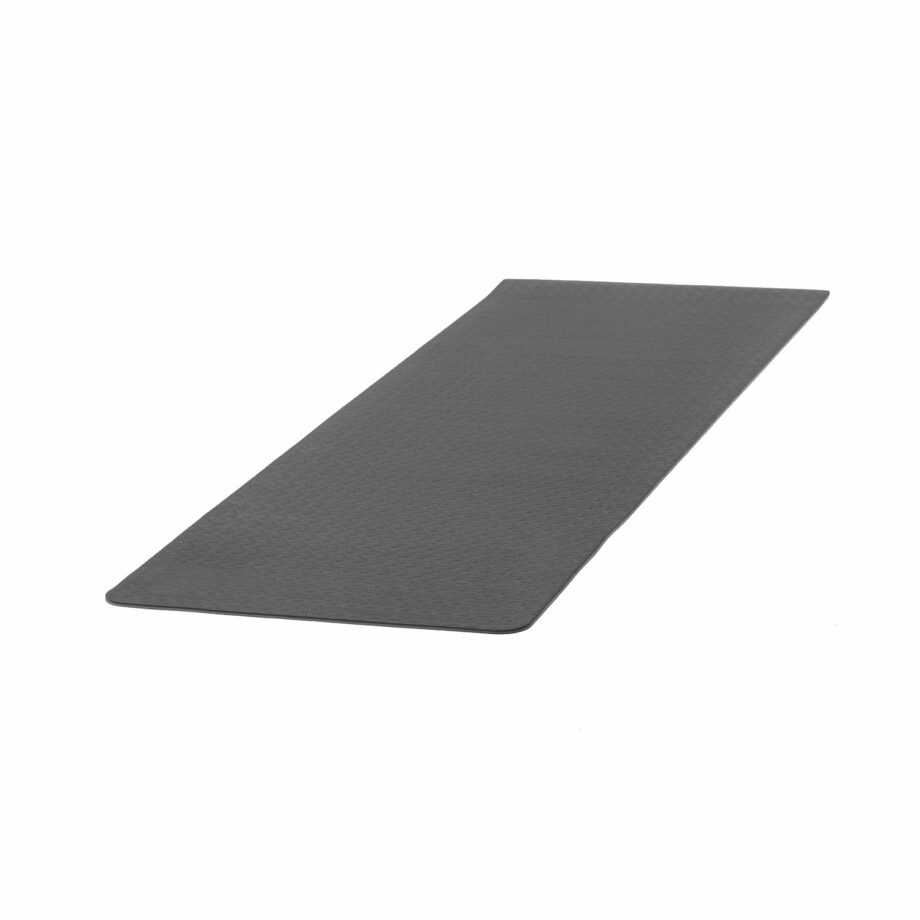 tapis de yoga lotus pro noir