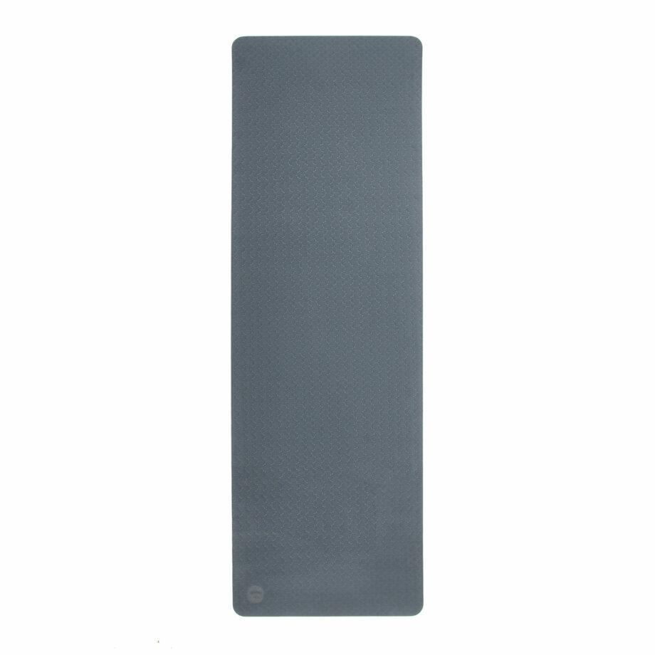 tapis de yoga lotus pro bleu