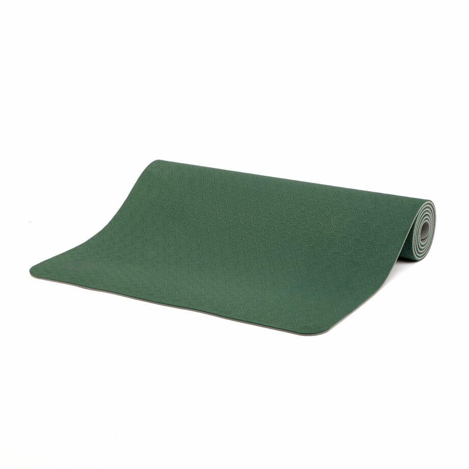 tapis de yoga lotus pro vert