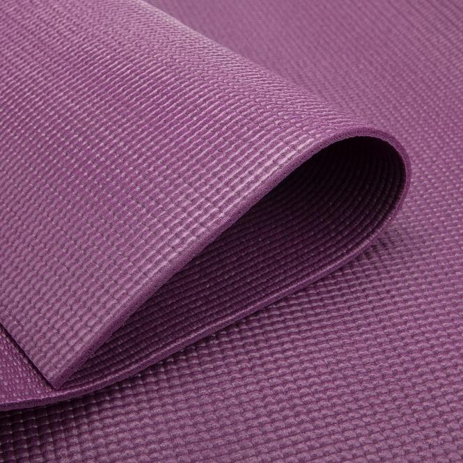 tapis de yoga pas cher aubergine