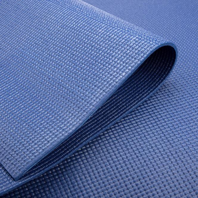 tapis de yoga pas cher bleu