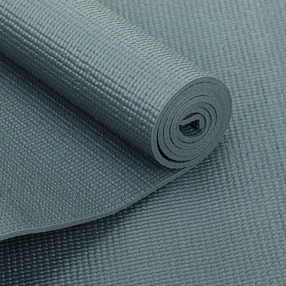 tapis de yoga pas cher gris