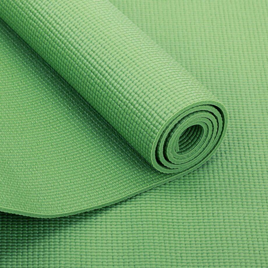 tapis de yoga pas cher vert