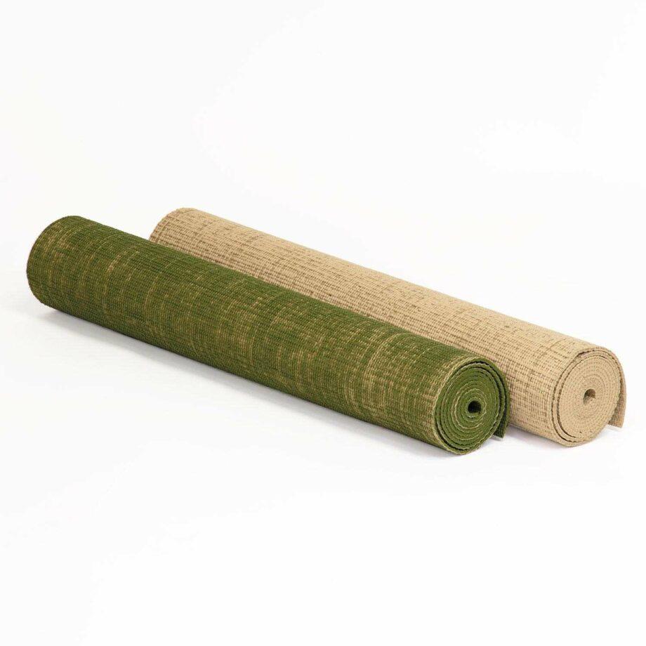 tapis de yoga toile de jute