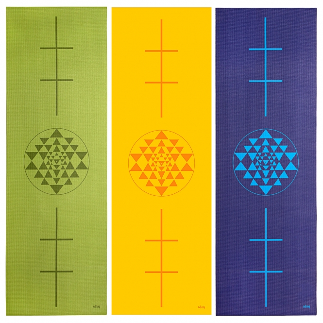 tapis de yoga yantra