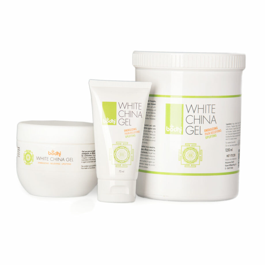 white china gel courbatures et musculaires
